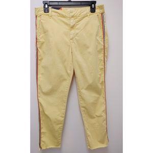 Sundry Yellow Strip Chino Pants Size 28